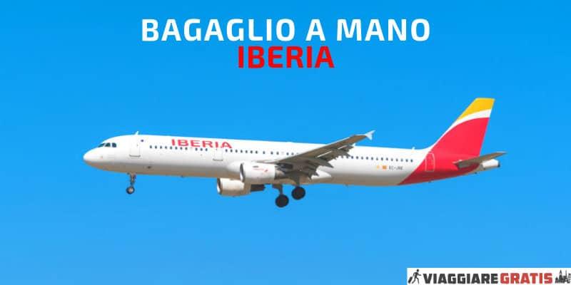 Bagaglio a mano Iberia