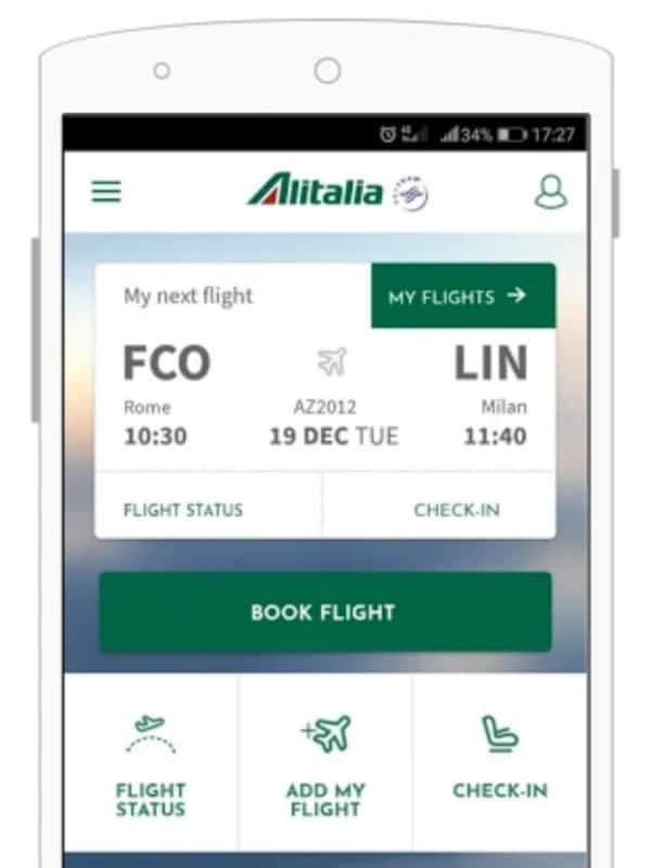 alitalia mobile check in