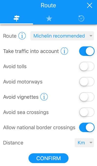 Guide Via Michelin