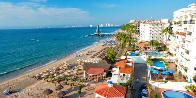 Messico spiaggia Puerto Vallarta