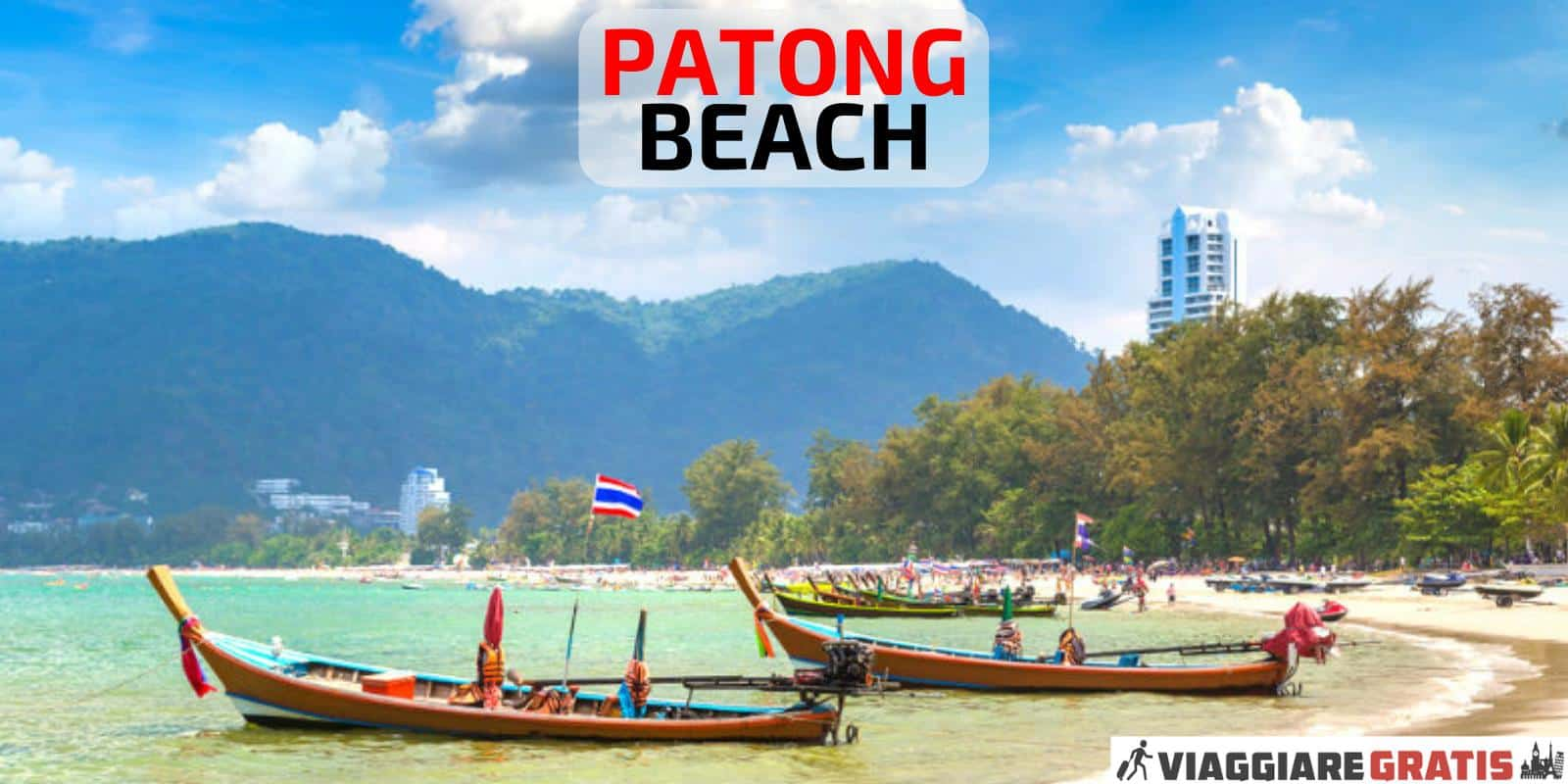 Patong Beach Phuket Thailandia