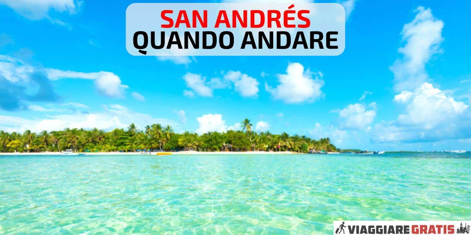 previsioni meteo San Andres quando andare