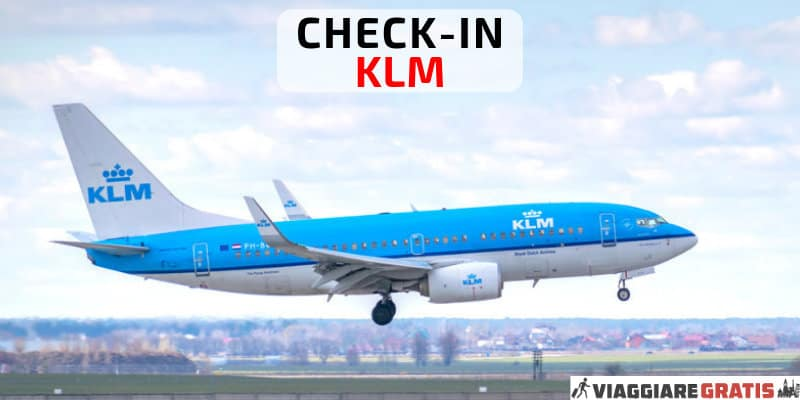 KLM check-in online