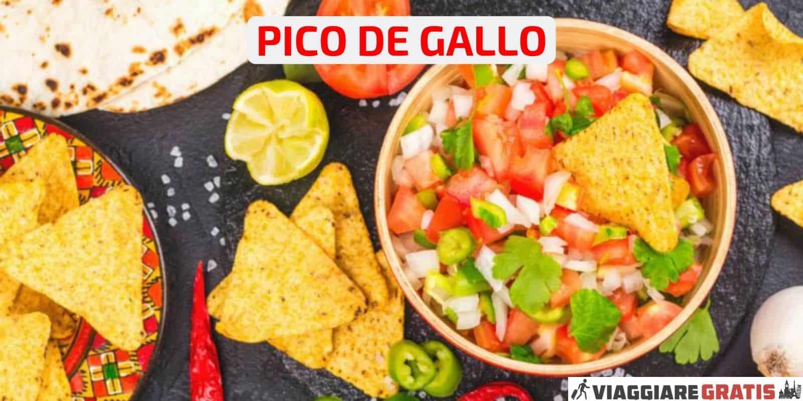 Ricetta Pico de gallo