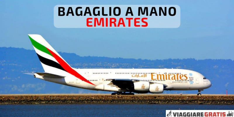 bagaglio a mano emirates airlines