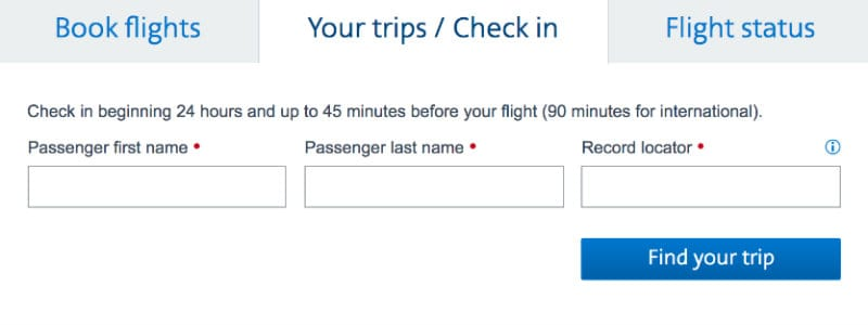 check-in online American Airlines