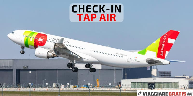 Check-in Tap Portugal
