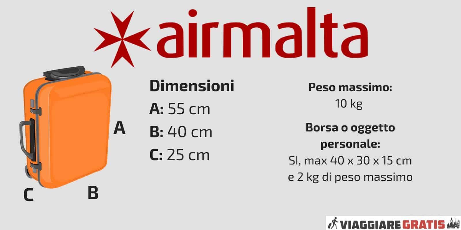 Bagaglio a Mano Air Malta