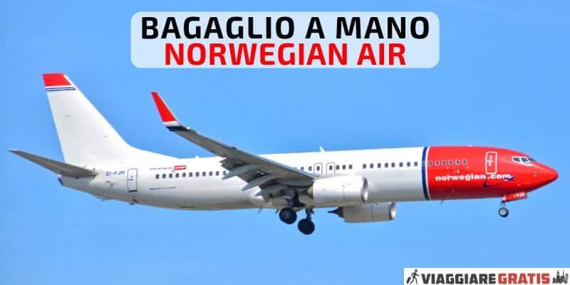 Bagaglio a mano Norwegian Air