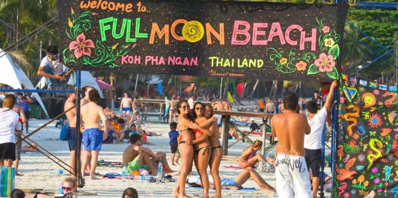 ko phangan full moon party