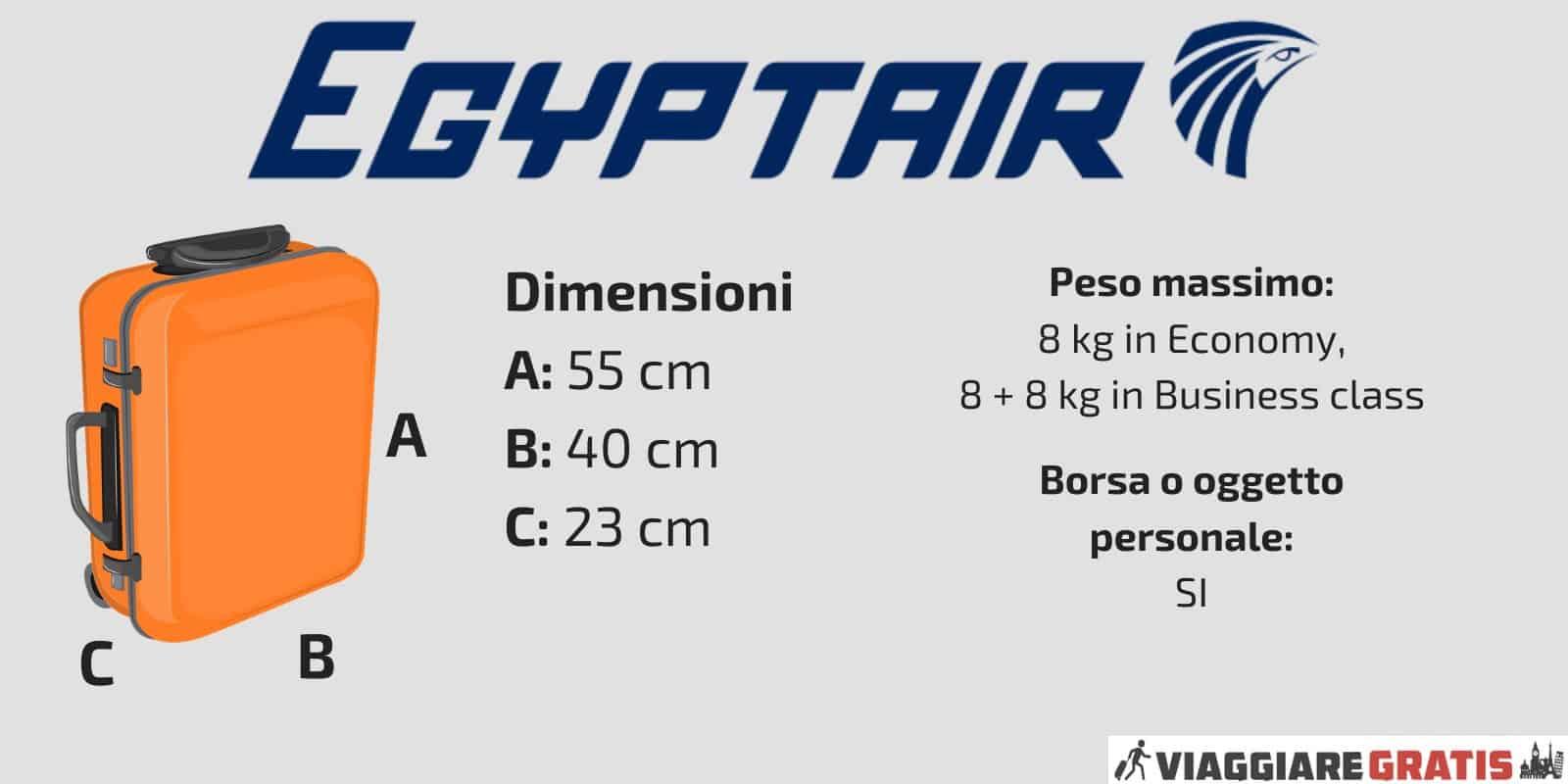 Bagaglio a Mano Egyptair