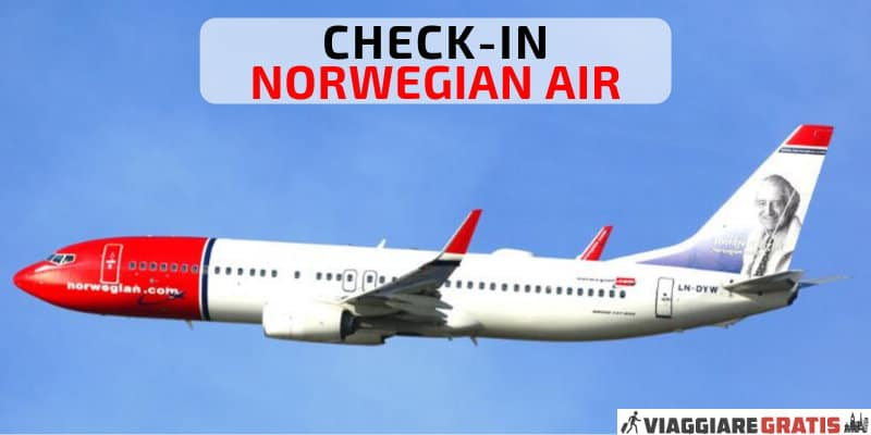 Check in Norwegian Air
