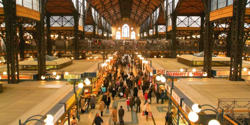 Mercato Budapest cosa vedere