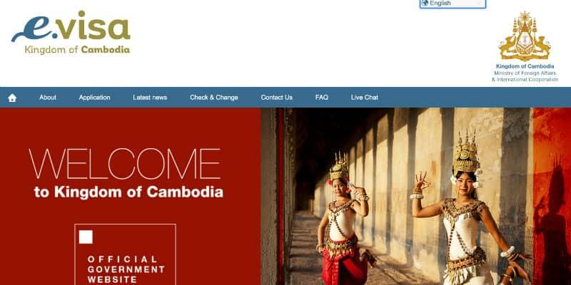e visa cambogia
