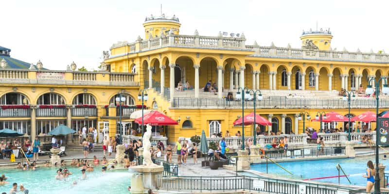terme Budapest luoghi di interesse
