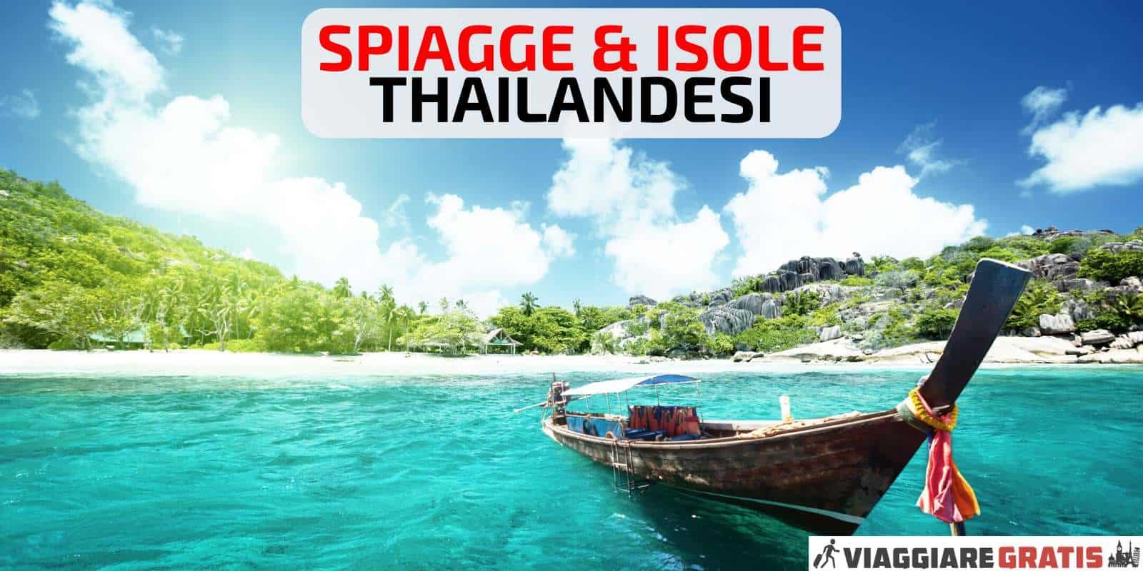 Mare Thailandia quando