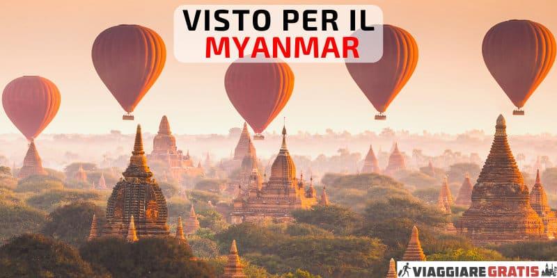 Visto Myanmar