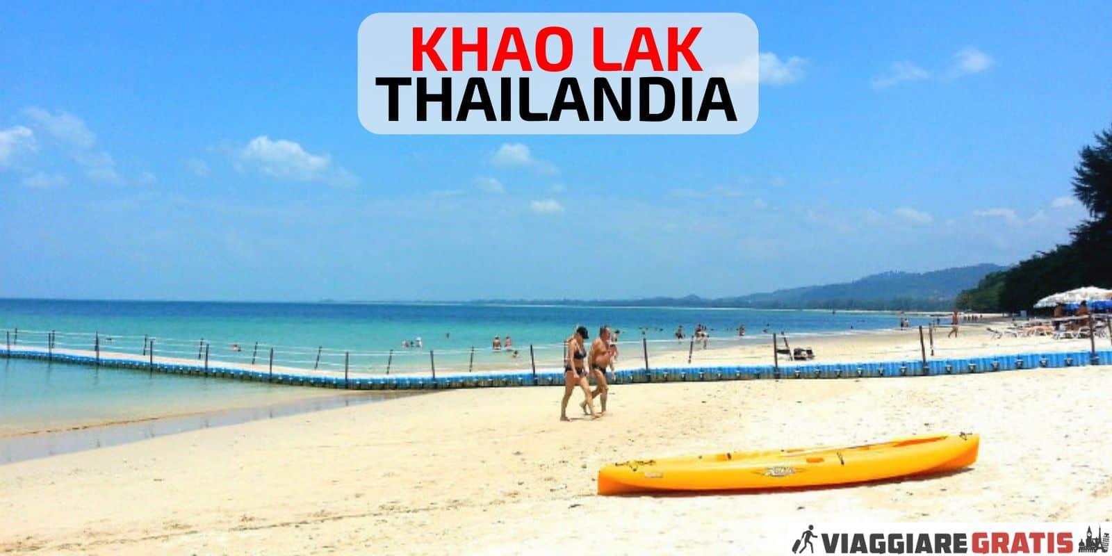 Thailandia Khao Lak