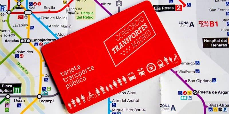 tarjeta multi madrid metro