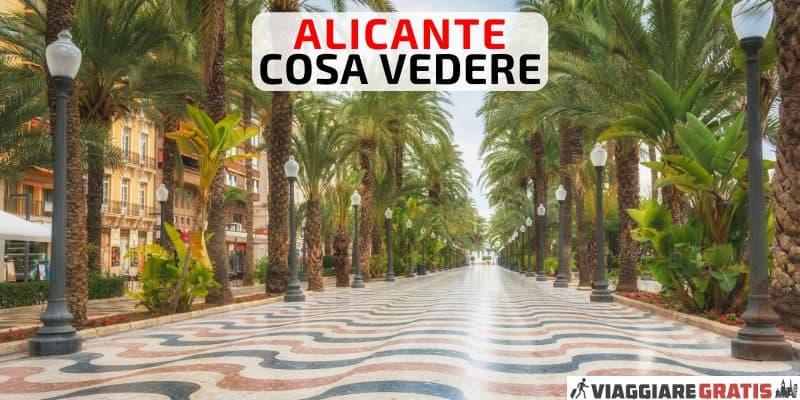 Alicante cose da vedere