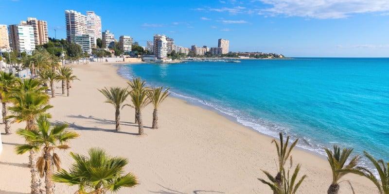 Alicante spiaggia