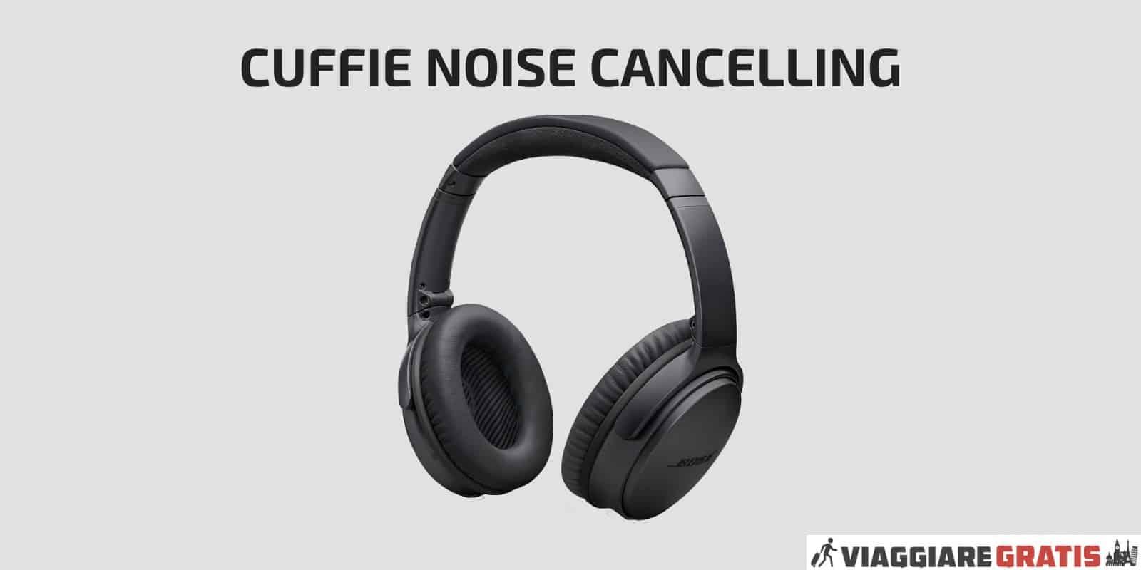 Cuffie noise cancelling cuffie antirumore