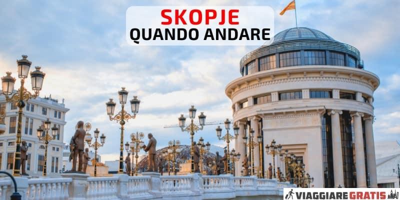 Meteo a Skopje Quando Andare