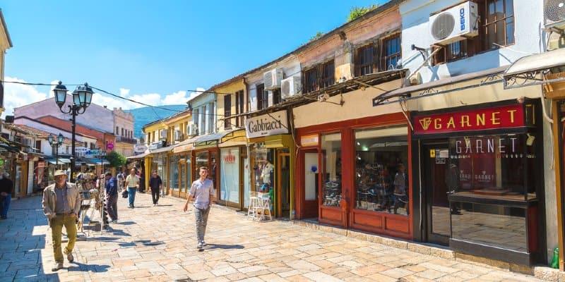 Old Bazaar citta vecchia Skopje