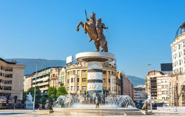 Piazza Macedonia Skopje