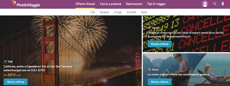 siti per vacanze