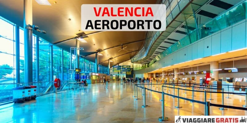 Aeroporto di Valencia come arrivare in centro