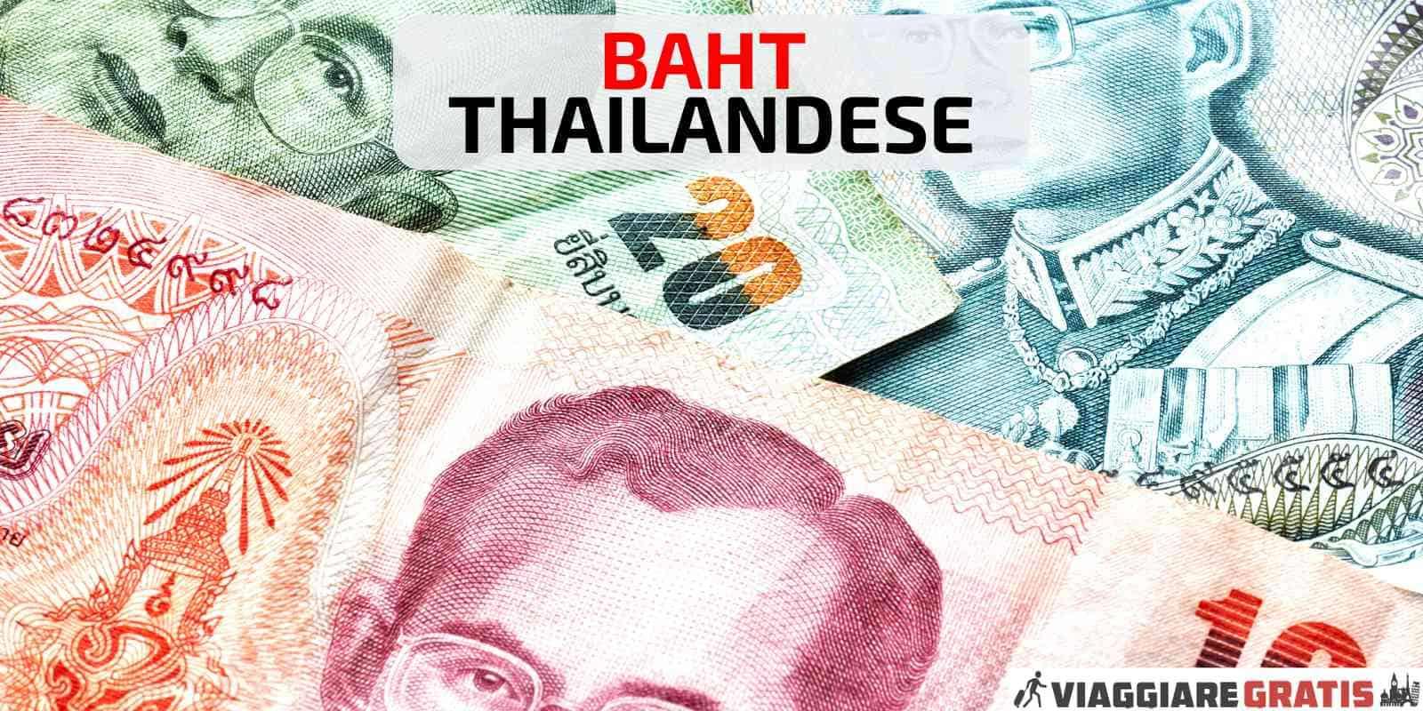Cambio Euro Baht thailandese