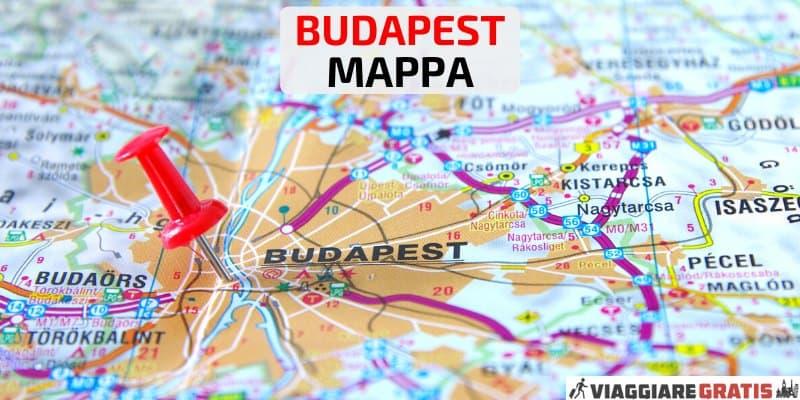 Mappa di Budapest interattiva