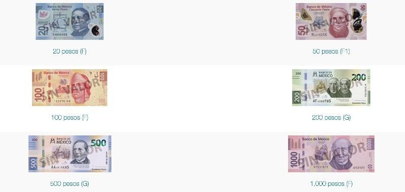banconote Messico
