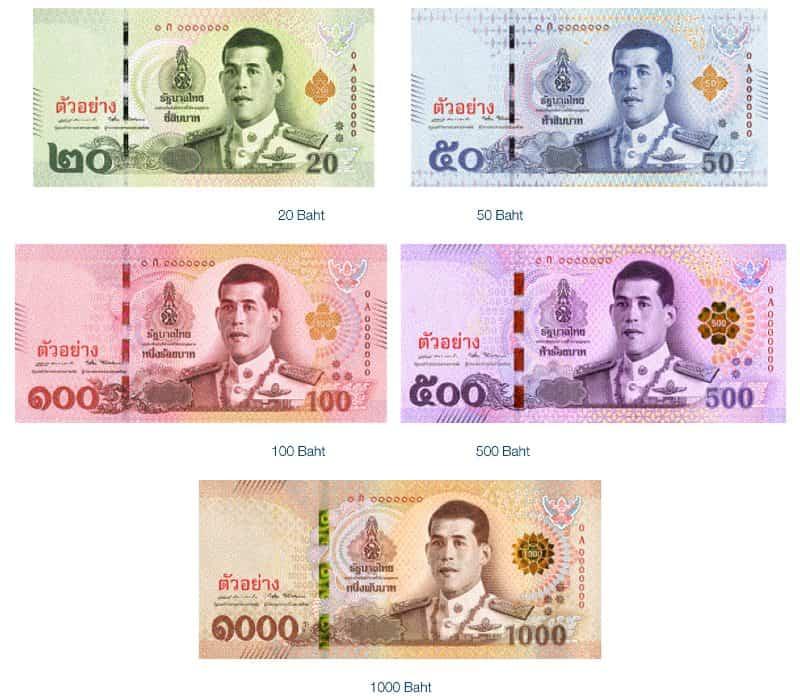 moneta della Thailandia