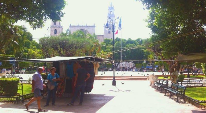 plaza grande merida yucatan