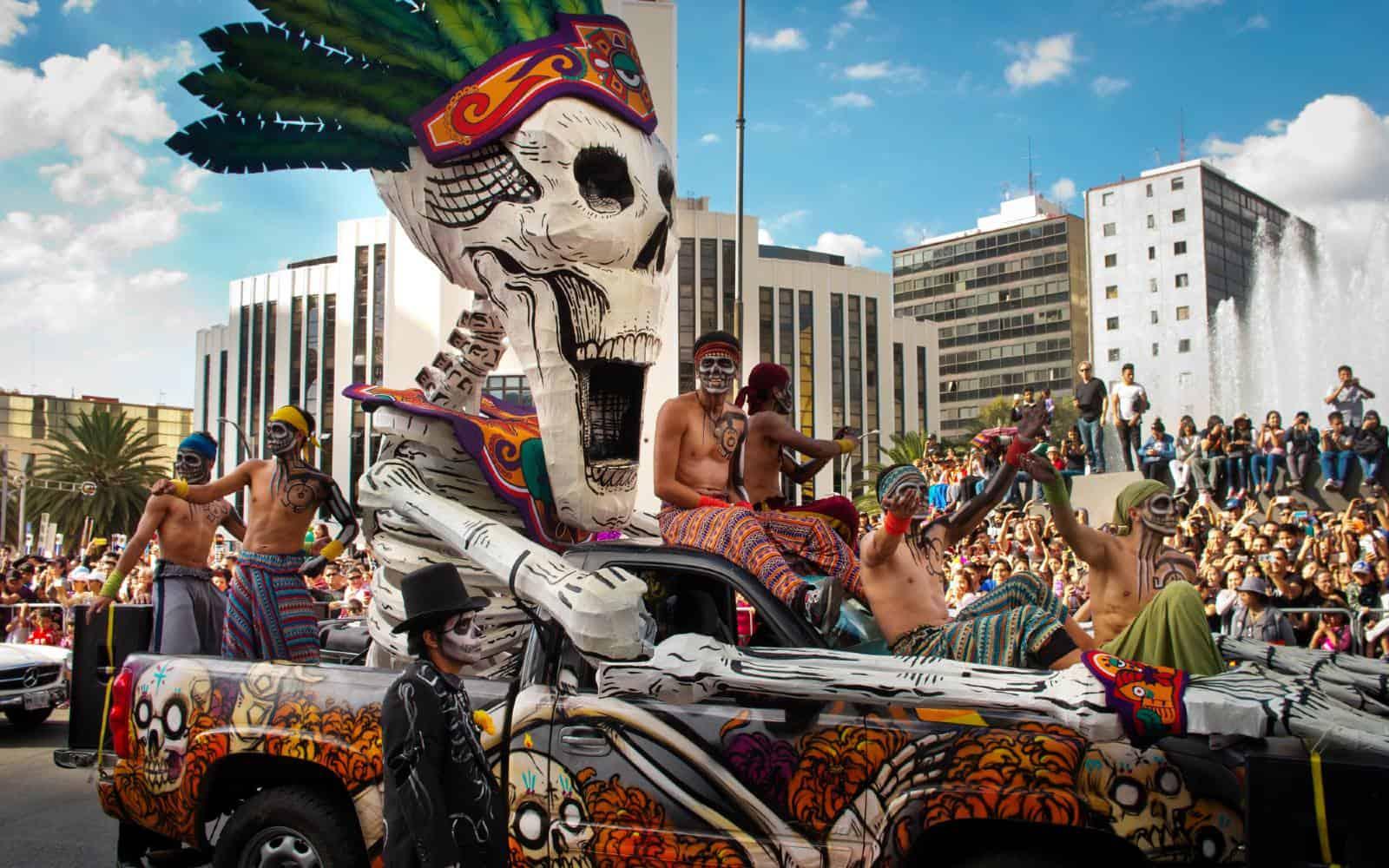 Dia de Muertos capitale messicana