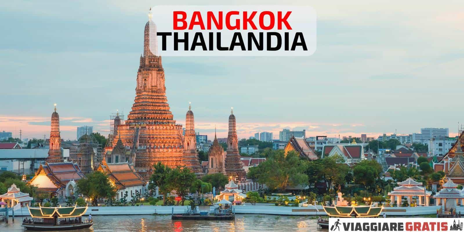 Bangkok capitale Thailandia