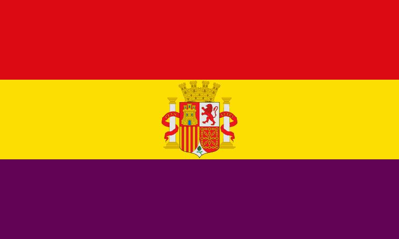 Repubblica spagnola bandiera