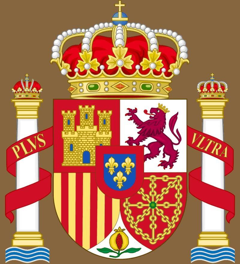 scudo stemma Spagna bandiera
