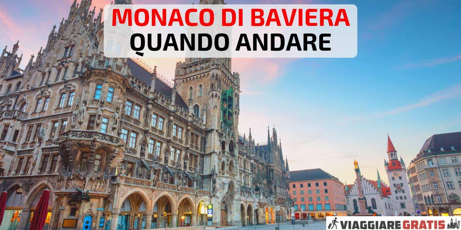 Meteo a Monaco di Baviera quando andare