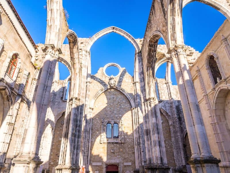 Convento do Carmo Lisbona luoghi di interesse
