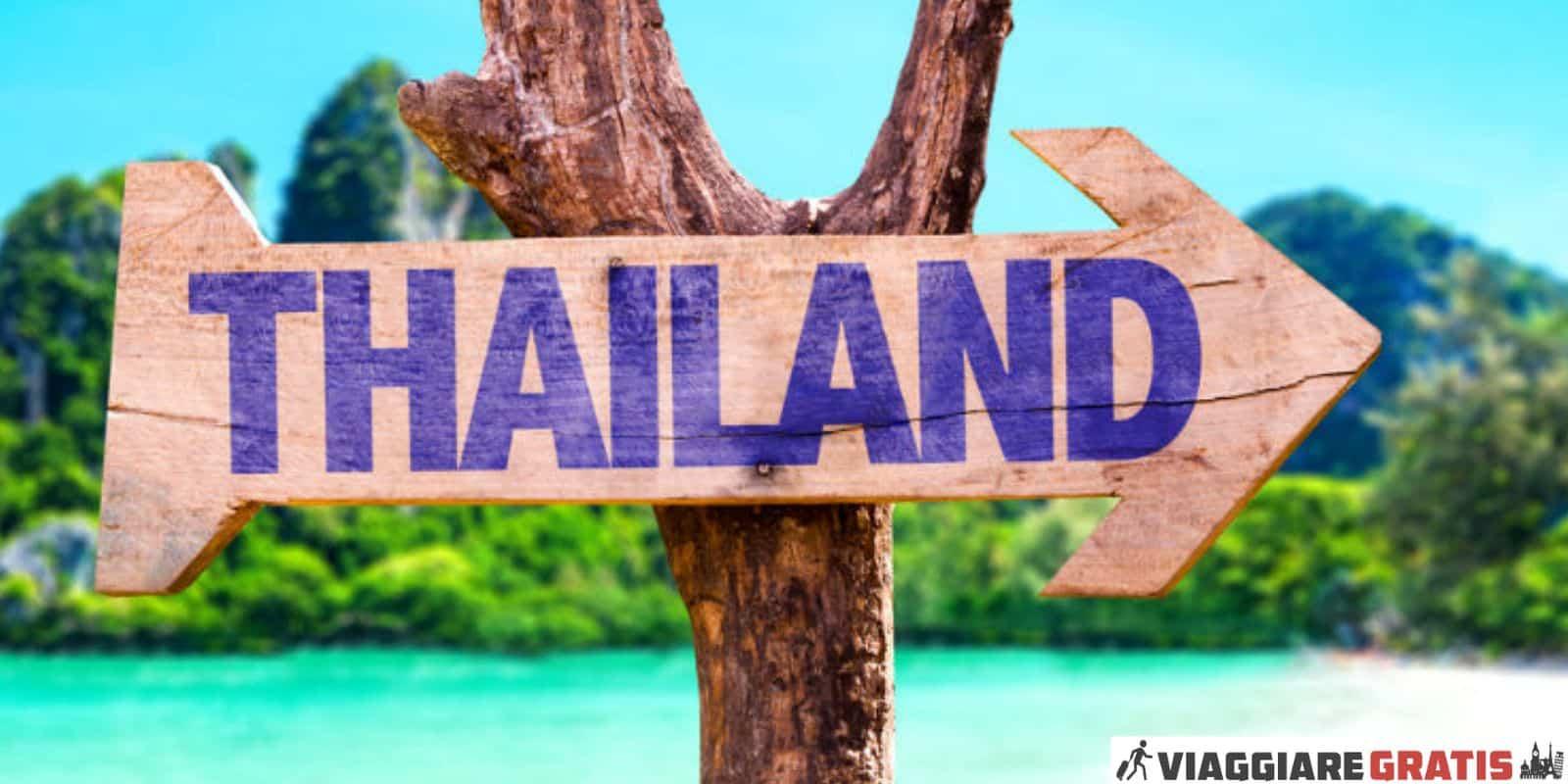 Cosa vedere Thailandia turismo