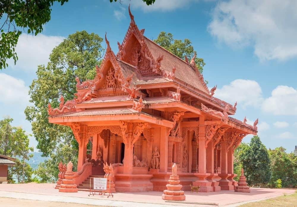 Wat Racha Thammaram tempio Samui