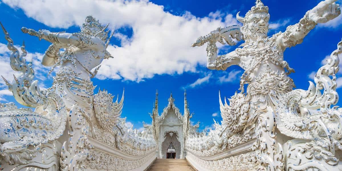 ingresso tempio Chiang Rai