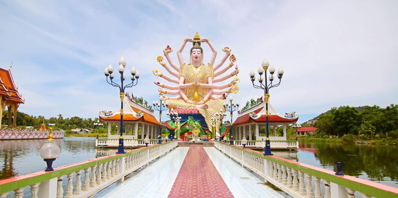 tempio Wat Plai Laem Samui