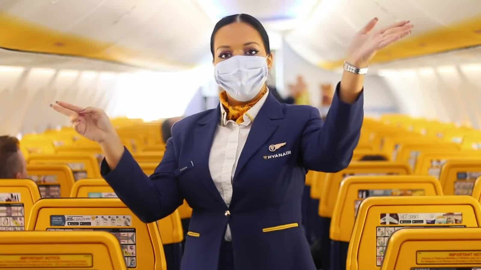 Autocertificazione Ryanair Voli Mascherine Coronavirus