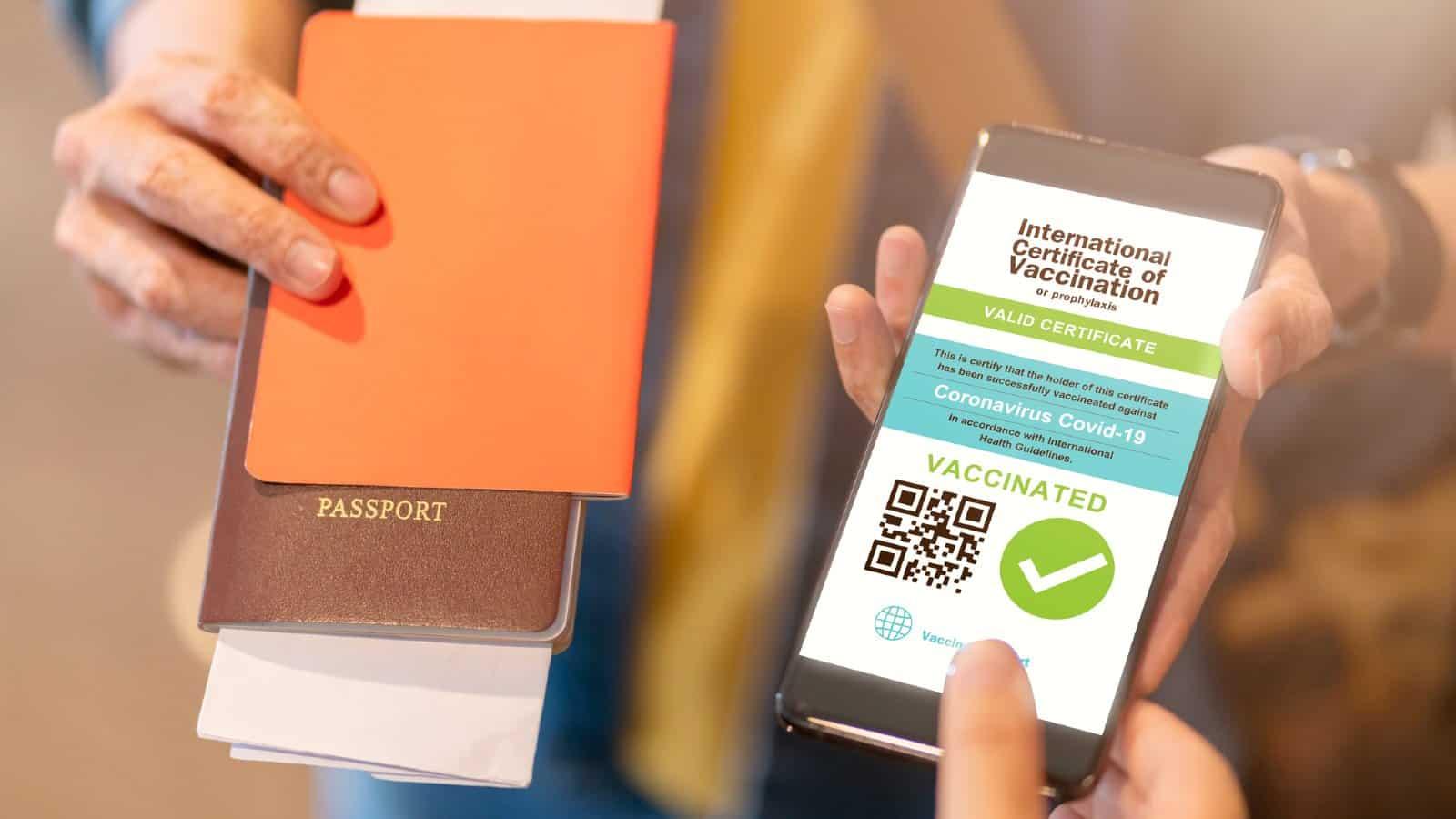 Certificato verde digitale Passaporto Vaccinale