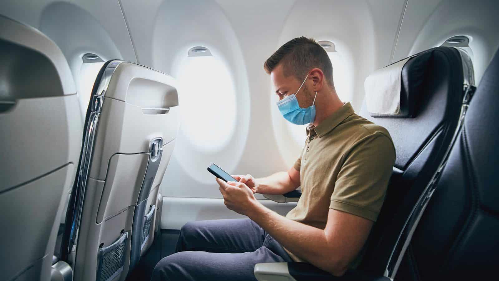 Mascherine viaggiare in aereo chirurgiche FFP2