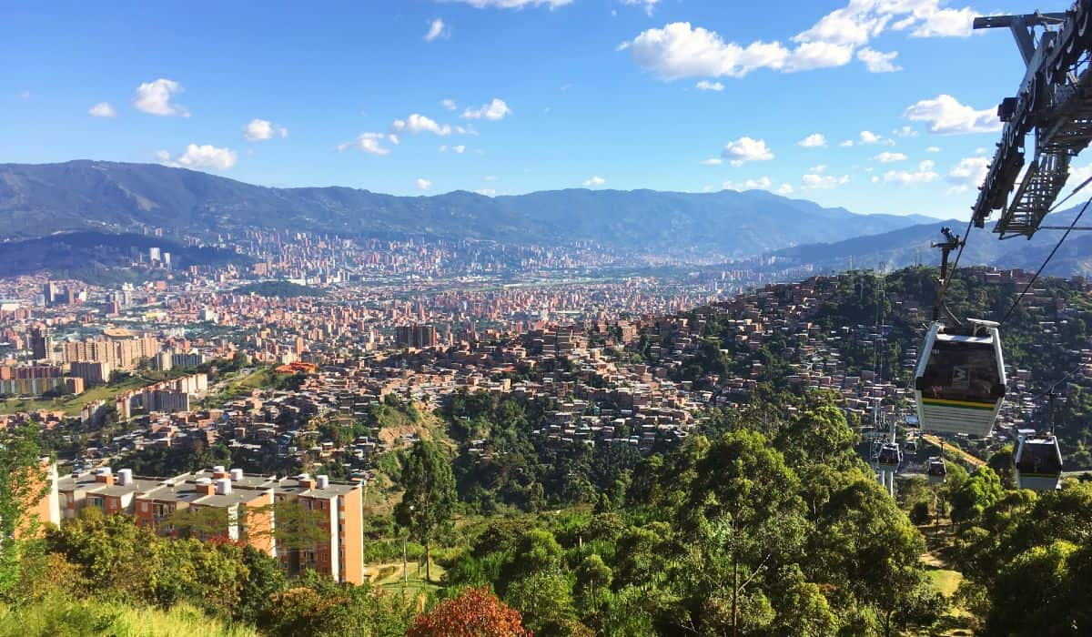 Cosa vedere Medellin Metrocable